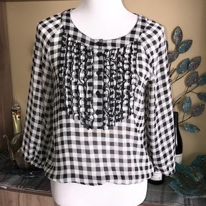 H&M Divided Checkered Top 1332